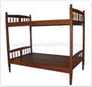 "Oriental Furniture - ffddbed -  Double deck bed - "" x "" x """