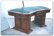 "Chinese Furniture - ffexample -  Special Computer desk with holes for cables - 0"" x 0"" x 0"""