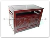 "Rosewood Furniture - ffed36tv -  T.v. cabinet dragon design - 36"" x 19"" x 26"""