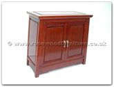 "Chinese Furniture - ffepcab -  Small cabinet Flower  and  Bird - 24"" x 12"" x 22"""