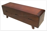"Chinese Furniture - ffff8019r -  Red wood t.v. cabinet - 6 drawers - 63"" x 18"" x 21.5"""