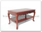"Oriental Furniture Range - ORfffscoffee -  Coffee table french design with  shelf - 36"" x 18"" x 18"""
