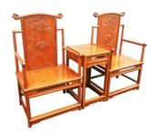 "Oriental Furniture - fffymchs -  ming style chair songhe design - 26.5"" x 20"" x 45.5"""