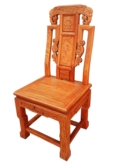 "Chinese Furniture - fffyrdinch -  dining chair full carved - 18"" x 17"" x 40"""