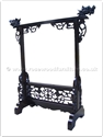 "Chinese Furniture - ffgrock -  Gong rack dragon design - 36"" x 13"" x 40"""