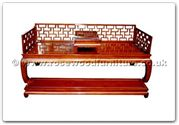 "Oriental Furniture - ffhfb010 -  Rosewood Luohan Bed (2Pcsith Set) - 81"" x 33.5"" x 31"""