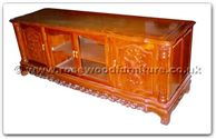 "Rosewood Furniture - ffhfc028 -  Rosewood TV Cabinet - 72"" x 22"" x 26"""