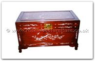 "Rosewood Furniture - ffhfc048 -  Rosewood Chest (Include Camphor) - 40"" x 21"" x 23"""