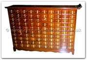 "Oriental Furniture - ffhfc049 -  Rosewood ChestKorean Style - 48"" x 13"" x 34"""