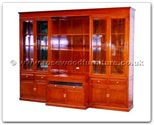 "Chinese Furniture - ffhfc061 -  Rosewood Wall Unit - 110.25"" x 23"" x 82.5"""