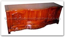 "Rosewood Furniture - ffhfc073 -  Rosewood TV Cabinet - 72"" x 24"" x 26"""