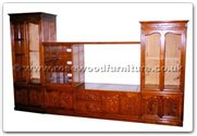 "Chinese Furniture - ffhfc075 -  Rosewood TV Cabinet - 126"" x 22"" x 75"""