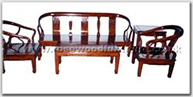 "Chinese Furniture - ffhfl031 -  Rosewood Sofa Set (5Pcsith Set )Excluding Cushion Couch - 72"" x 22"" x 32"""