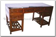"Rosewood Furniture - ffhfl111 -  Rosewood Desk (Ming Style) - 62"" x 25"" x 31"""
