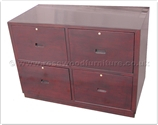 "Chinese Furniture - ffinv24604 -  Cabinet with 4 hanging files drawers - 42"" x 22"" x 30"""