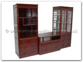 "Chinese Furniture - ffl100unit -  Entertainment unit (set of 3) - 100"" x 25"" x 73"""