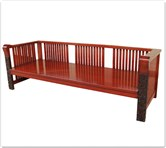 "Chinese Furniture - fflz3sf -  Bench ganoderma design - 80"" x 30"" x 27"""