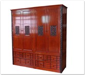 "Chinese Furniture - fflzward -  Wardrobe ganoderma design - 79"" x 23"" x 82"""