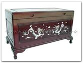 "Rosewood Furniture - ffmopchest -  Chest M.O.P. With Camphorwood Lined - 40"" x 20"" x 23"""
