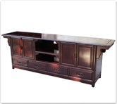 "Rosewood Furniture - ffmstvc -  Ming style t.v. cabinet   - 83"" x 18.5"" x 28"""