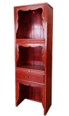 "Oriental Furniture - ffp27alt -  altar cabinet plain design - 27"" x 16"" x 84"""