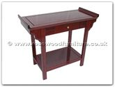 "Chinese Furniture - ffp36altar -  Altar Table ith Drawer  and  Shelf - 36"" x 14"" x 30"""
