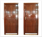 "Rosewood Furniture - ffpedr -  Rosewood door carved peony - "" x "" x """