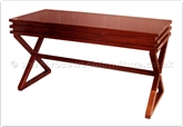 "Oriental Furniture Range - ORffpwdesk -  Redwood desk - 3 drawers - 58"" x 26"" x 34"""