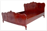 "Oriental Furniture - ffqncqbed -  Queen Size Bed Queen Ann Legs With Carved - 60"" x 78"" x 0"""