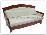 "Chinese Furniture - ffr3fsofa -  Wood Frame Fabric Bench - 76"" x 27"" x 40"""