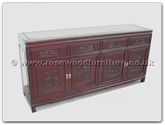 "Chinese Furniture - ffrd72buf -  Buffet dragon design - 72"" x 19"" x 34"""