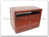 "Rosewood Furniture - ffrpptv -  T.v. cabinet with 2 doors plain design - 36"" x 19"" x 26"""