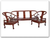 "Chinese Furniture - ffsbtosofa -  Sofa Solid F and B Design Tiger Legs (Chair) (Excluding Cushion) - 25"" x 22"" x 32"""