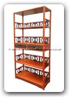 "Chinese Furniture - ffslfm -  Ming style shelves w/2 drawers - 38.5"" x 16"" x 79"""
