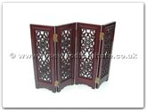 "Rosewood Furniture - ffslscreen -  Screen open longlife design - 48"" x 48"" x 2"""
