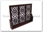 "Rosewood Furniture - ffsscreenl -  Stand Screen Longlife Design - 38"" x 5"" x 28"""