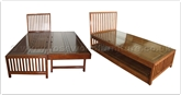 "Oriental Furniture - fftrbed -  Trundle bed - "" x "" x """