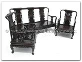 "Oriental Furniture Range - ORffvatsofa -  Sofa (excluding cushion) - 72"" x 23"" x 38"""