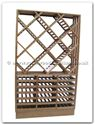 "Chinese Furniture - ffwcase -  Ash Wood Wine Cabinet - 49.5"" x 15"" x 84.5"""